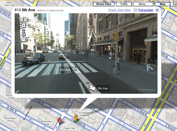 This picture is here to show you just how clear and sharp this mapping program can be.